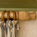 Bamboo Curtain Rods and Rings