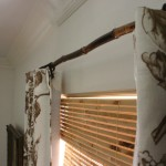 Bamboo Curtain Rods DIY