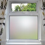 Bathroom Frosted Window Film
