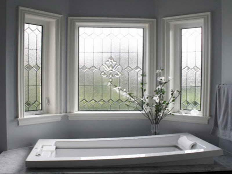 Bathroom window film privacy window treatments design ideas for Bathroom window treatments privacy