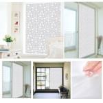 Bathroom Window Frosting Film