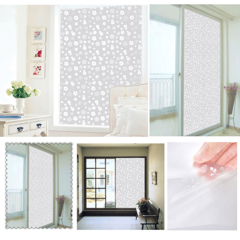 Bathroom Window Frosting Film