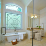 Bathroom Window Treatments Privacy