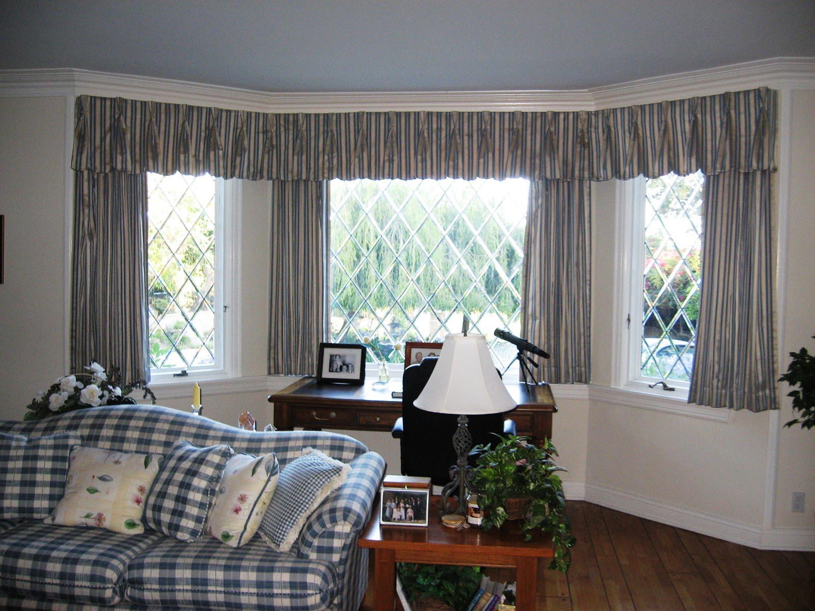 Bay Window Curtain Treatments