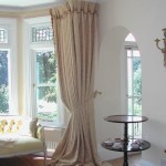 Bay Window Treatments for Bedroom
