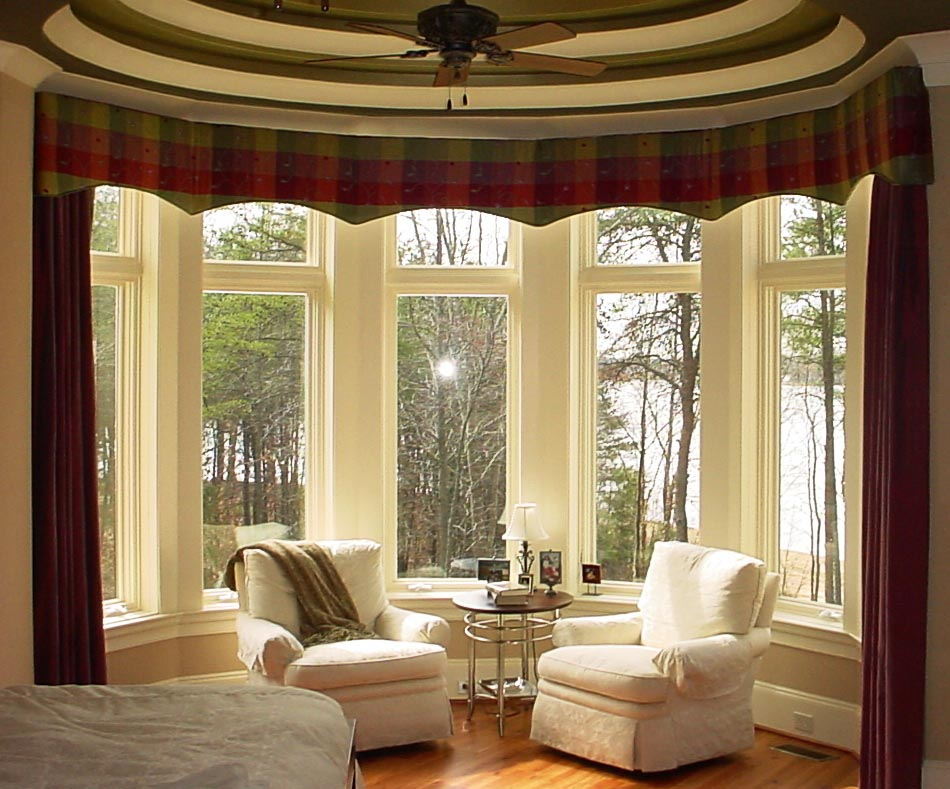 Bay Window Treatments Images