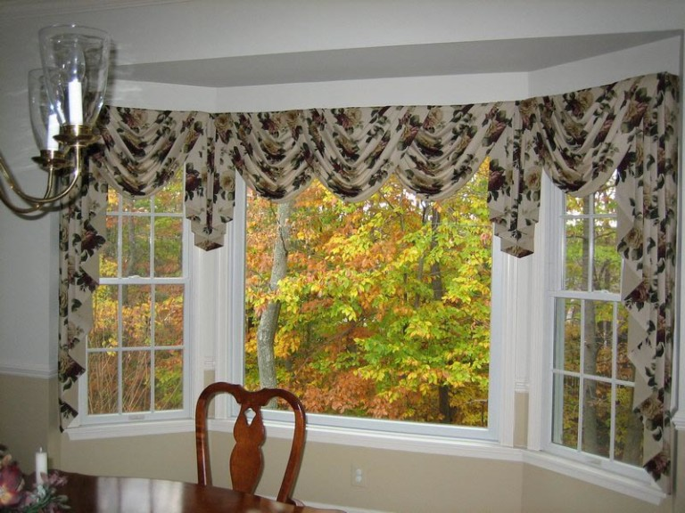 Bay Window Valances Window Treatments