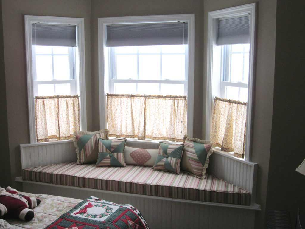 Bay window window treatments window treatments design ideas for Bay window remodel