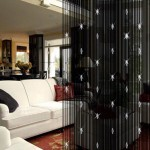 Black Door Beads Curtain