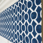 Blue Valances Window Treatments