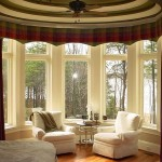 Bow Window Treatments Ideas