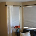 Bow Window Treatments Rods