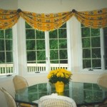 Bow Window Treatments Valance