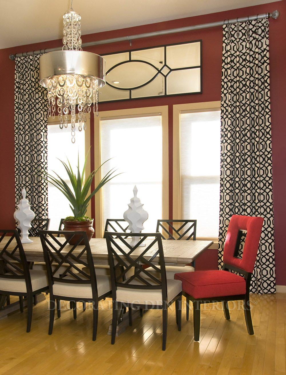 Contemporary Drapes Window Treatments