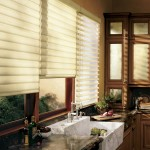 Contemporary Kitchen Window Treatments Ideas