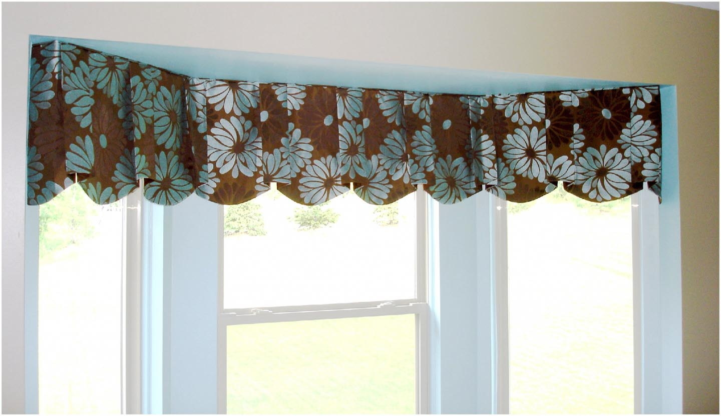 Contemporary Valances Window Treatments