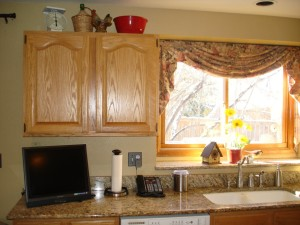 Country Kitchen Window Treatments