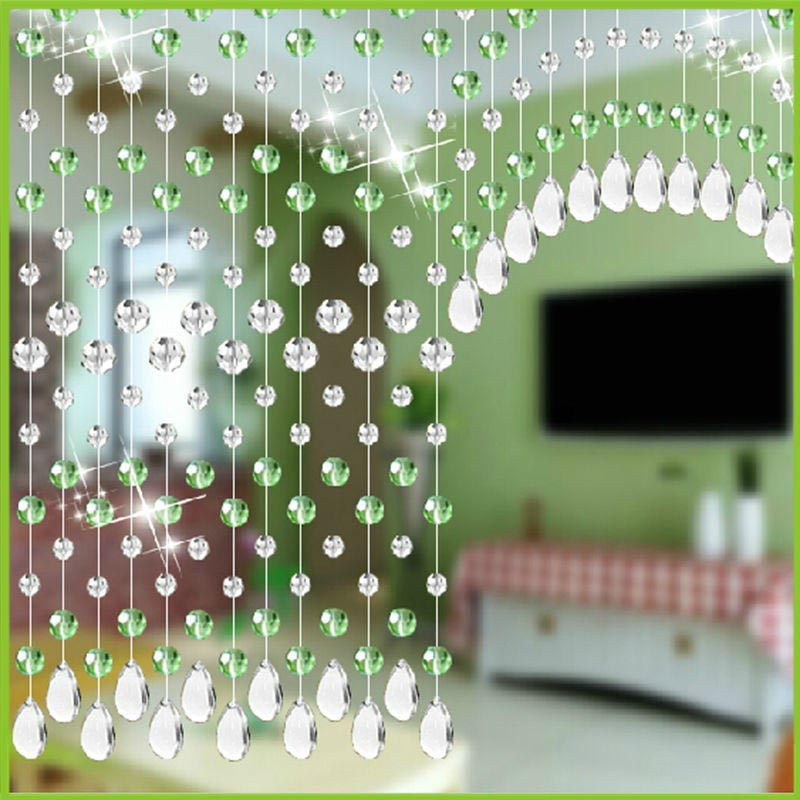 Crystal Door Beads Curtain & Crystal Door Beads Curtain | Window Treatments Design Ideas
