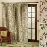 Curtain Rod for Patio Door
