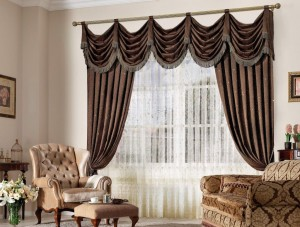 ... Curtains For A Brown Living Room ... Part 60