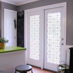 Door Panel Window Treatments