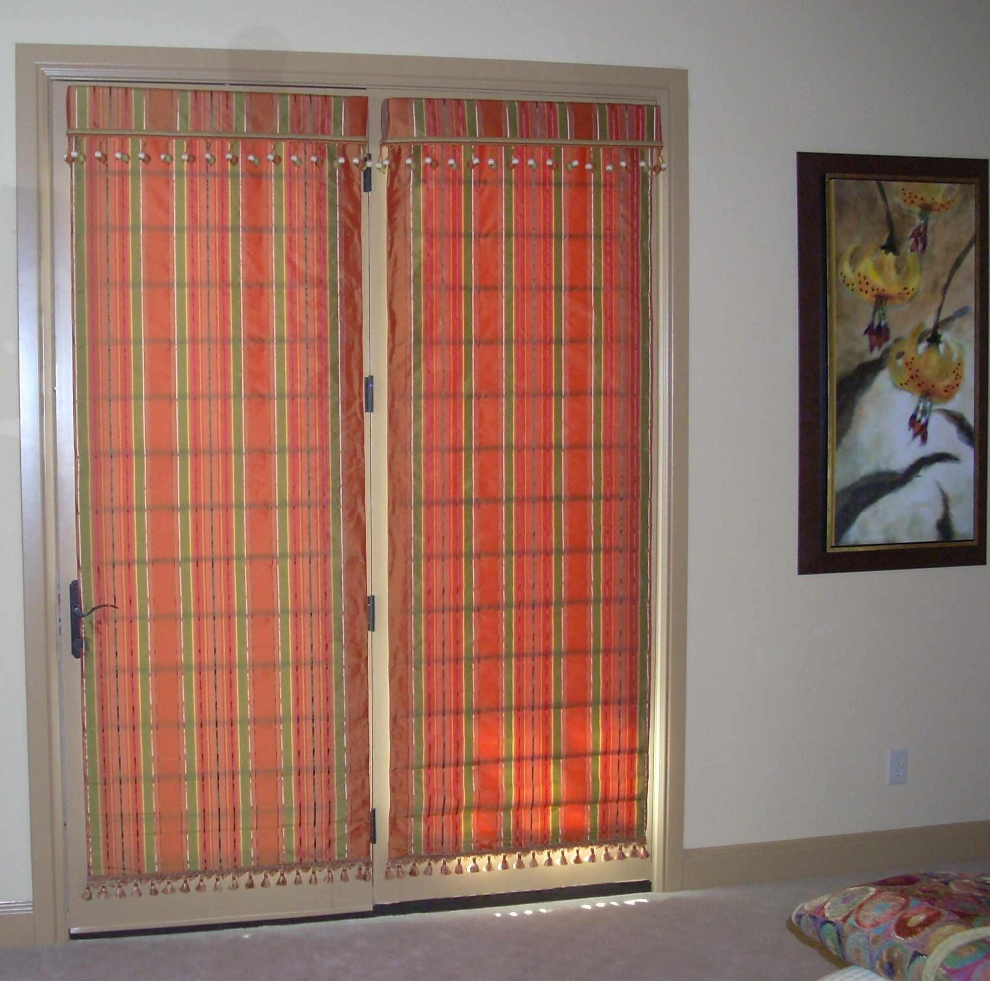 Double door window treatments window treatments design ideas Latest window treatments