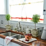 Easy Kitchen Window Treatments