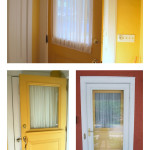 Entry Door Window Treatments