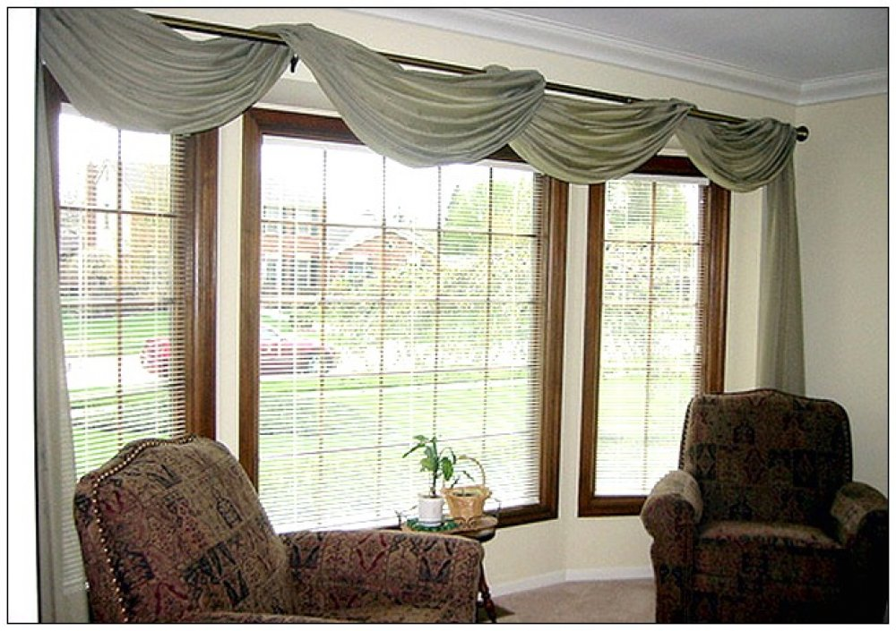 Extra large window treatments window treatments design ideas for Blinds for tall windows