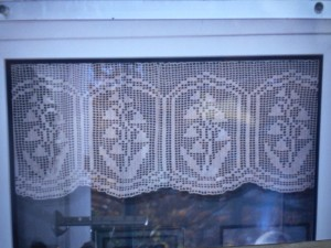 Filet Crochet Curtain Patterns Free