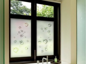 Film for Bathroom Window Privacy