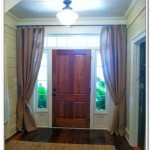 Front Door Window Treatments