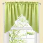 Green Valances Window Treatments