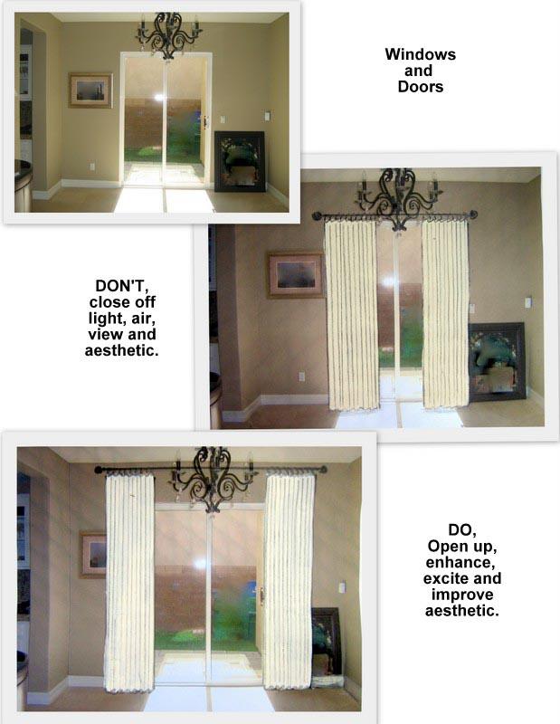 How To Hang Curtain Rod Over Sliding Door Window