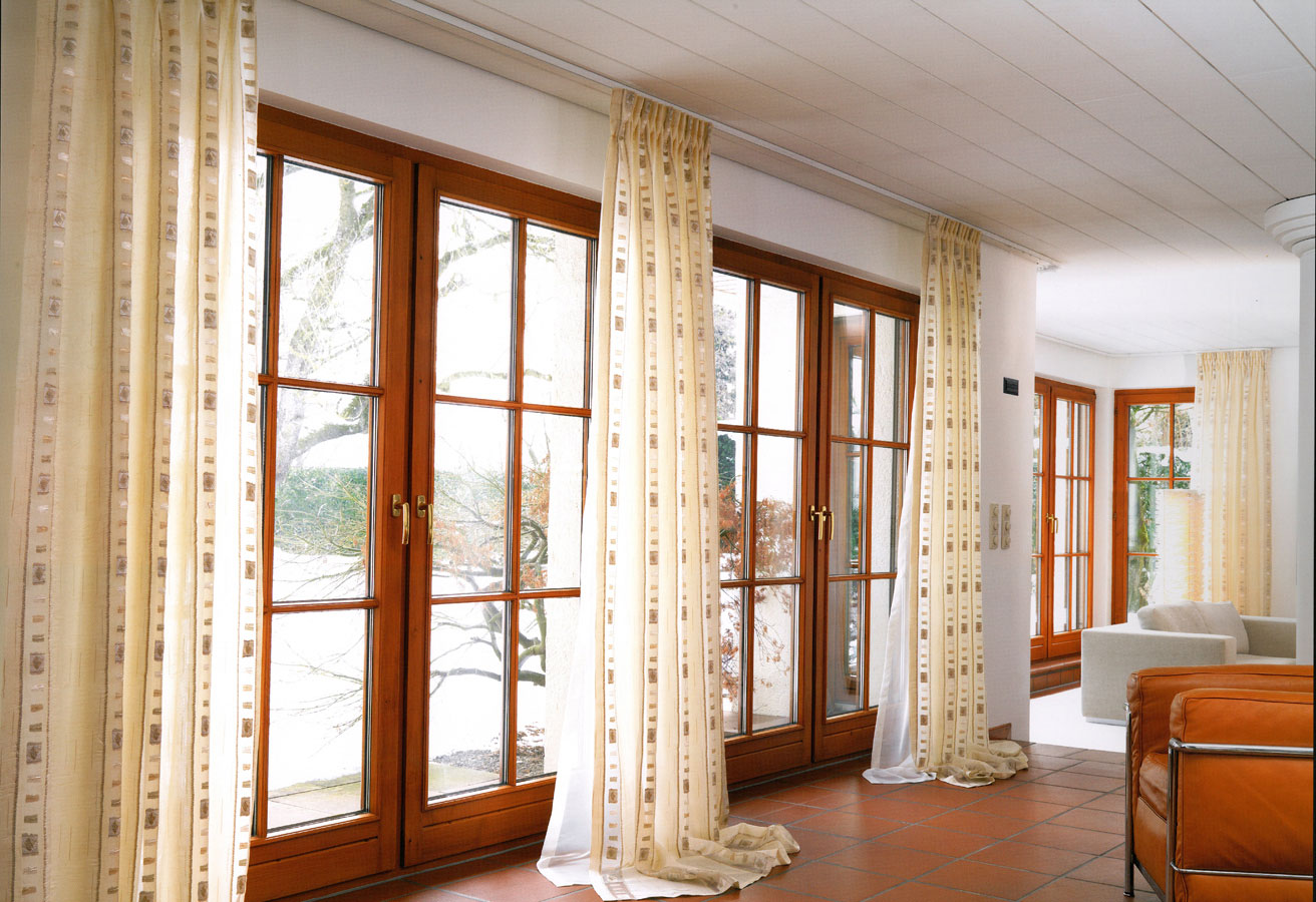 Idea for Curtains for Living Room