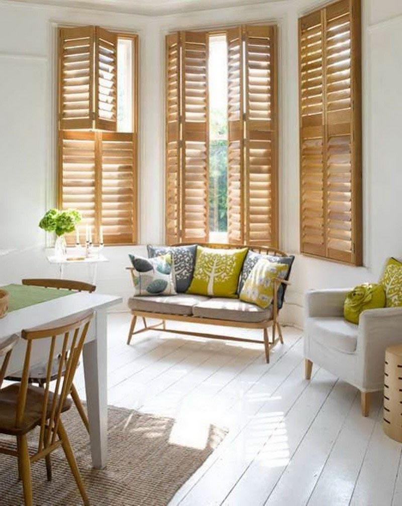 Ideas for bay window treatments window treatments design for Window treatments 2016