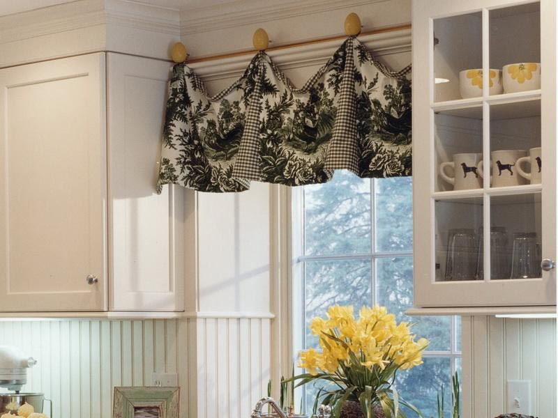 Kitchen Bay Window Treatments