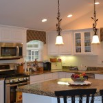 Kitchen Cornice Window Treatments