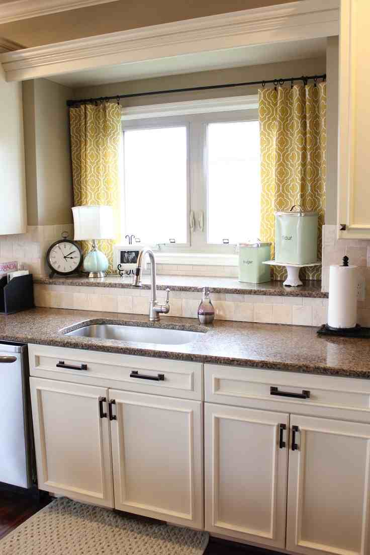 Kitchen Window Treatments Modern