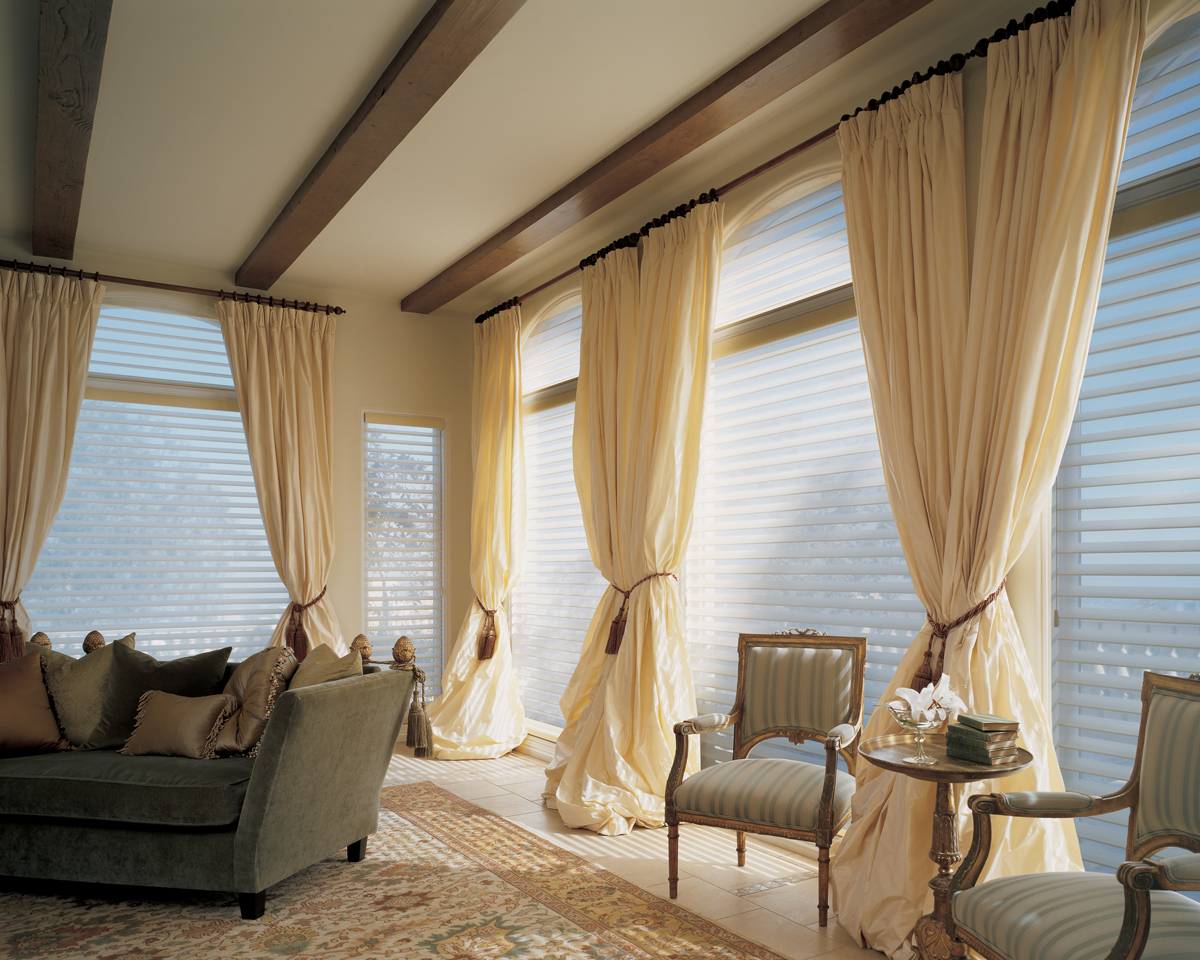 Large Window Treatments Ideas