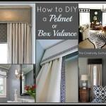 Make Your Own Cornice Window Treatments