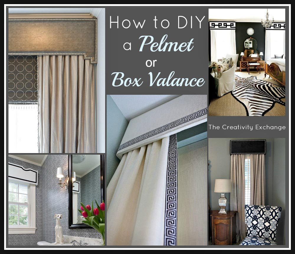 Make Your Own Cornice Window Treatments