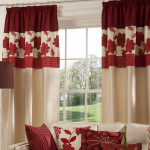 Maroon Curtains for Living Room