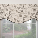 Modern Valances Window Treatments