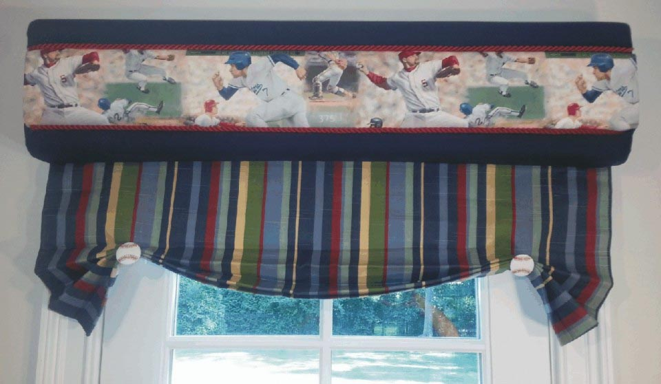 No Sew Cornice : No sew cornice window treatments