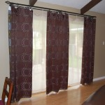 Patio Door Curtain Rods