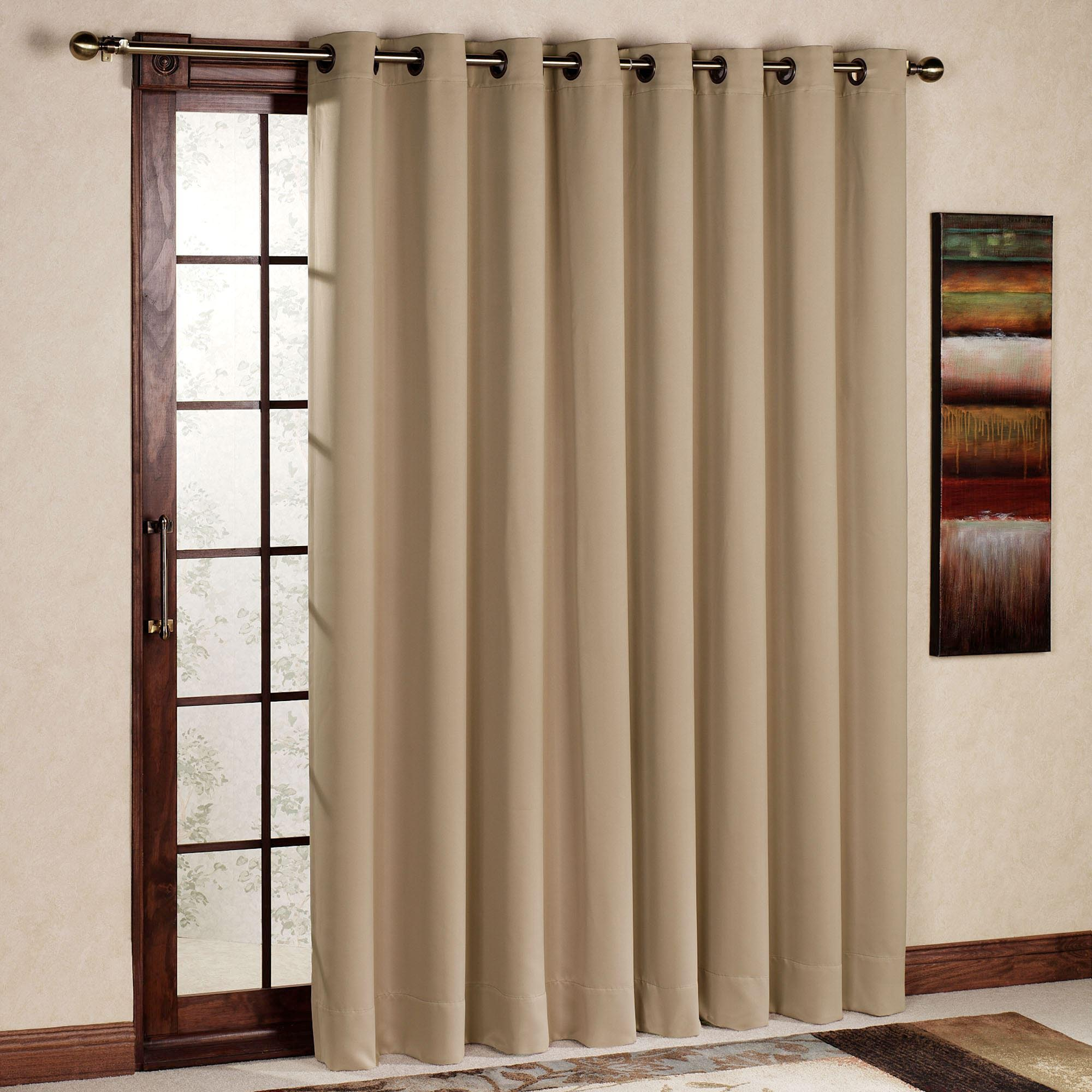 Correct Choice Of Patio Door Curtain Window Treatments Design Ideas
