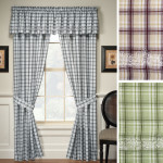 Plaid Valances Window Treatments