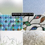 Privacy Bathroom Window Film