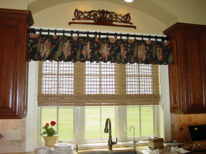 Rustic Kitchen Window Treatments